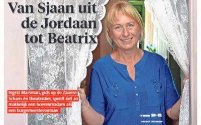 Sjaan from the Jordaan to Beatrix/1-7-21
